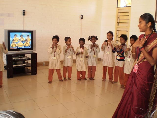 isha vidhya erode dvd activity